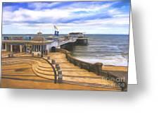Cromer Pier Norfolk Greeting Card