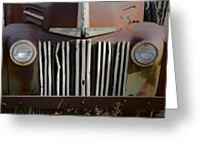 Crooked Grill Greeting Card
