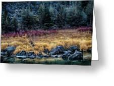 Crooked River At Smith Rock Greeting Card