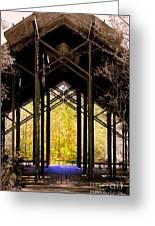 Crosby Arboretum Open Air Outdoor Pavillion Greeting Card