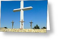 Cross 190 Ft Tall Greeting Card