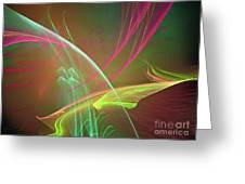 Cross Currents Greeting Card