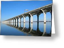 Cross Lake Bridge 1 Greeting Card