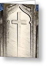 Cross Monument Greeting Card