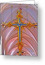 Cross Of Church Of Our Lady Greeting Card
