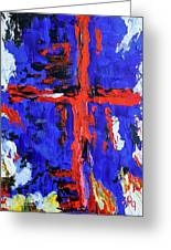 Cross Of The Patriot Greeting Card