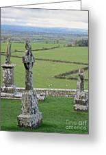Crosses Of Cashel Greeting Card
