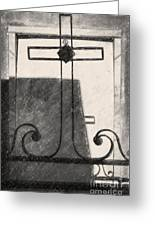 Crosses Voided Wrought Iron _ Nola Greeting Card