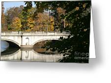 Crossing Over Into Autumn Greeting Card