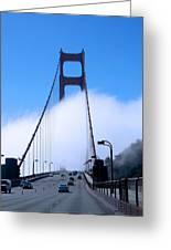 Crossing The Fog Greeting Card