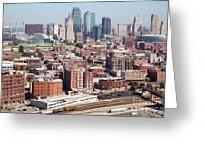 Crossroads Arts District Kansas City Mo Greeting Card