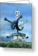 Crossroads In Clarksdale Greeting Card