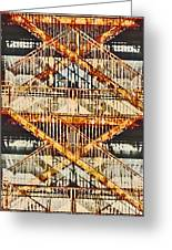 Crosstown Fire Escape Greeting Card