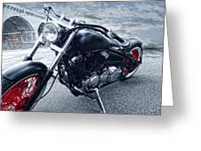 Crotch Rocket Greeting Card