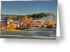Crouch Main St Greeting Card