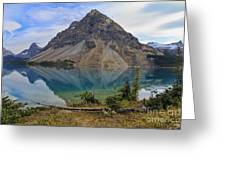 Crowfoot Mountain Banff Np Greeting Card