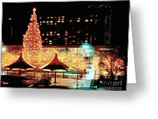 Crown Center Christmas - Kansas City-1 Greeting Card