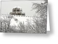 Crown Point From Below Greeting Card