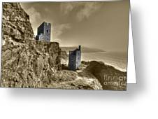 Crown Tin Mines  Greeting Card