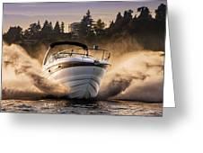 Crownline Boat Greeting Card