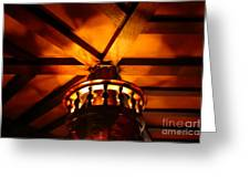 Crows Nest At Ship Tavern In The Brown Palace Hotel Greeting Card