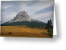 Crowsnest Mountain Greeting Card