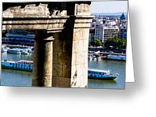 Cruise On The Danube Greeting Card