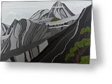 Cruisin' The Andes Greeting Card