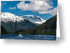 Cruising Alaska Greeting Card