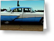 Cruising Down The Road Greeting Card