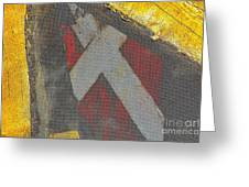 Crusader Greeting Card