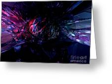 Crushed Abstract Greeting Card