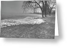 Crushed Ice 3 Greeting Card