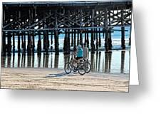 Crusin The Beach Greeting Card