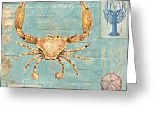 Crustacean Greeting Card by Paul Brent