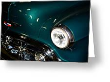 Cruzin Chevy Greeting Card