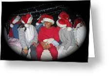 Crying Junior Santa Christmas Parade Eloy Arizona 2005-2013 Greeting Card