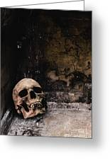 Crypt Greeting Card