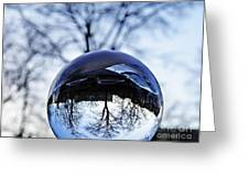 Crystal Ball Project 59 Greeting Card