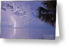 Crystal Beach 4 Greeting Card
