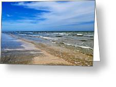 Crystal Beach Greeting Card