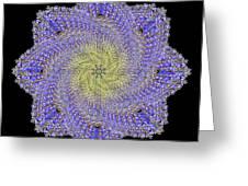Crystal Blue Salvia Greeting Card