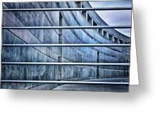 Crystal Bridges Museum Greytones Greeting Card by Gia Marie Houck