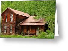 Crystal Cabin Greeting Card