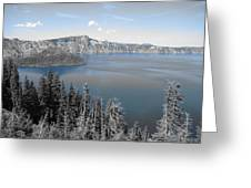Crystal Clear Day Greeting Card