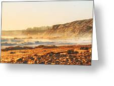 Crystal Cove At Sunset 1 Greeting Card