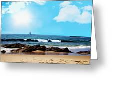 Crystal Cove Greeting Card