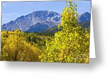 Crystal Creek Autumn Greeting Card