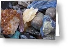 Crystal Energy Greeting Card