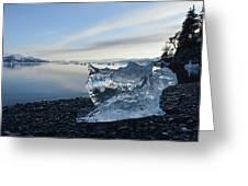 Crystal Entity Greeting Card
